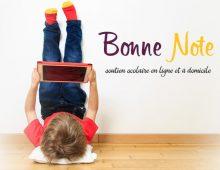 Bonne Note : soutien scolaire en ligne et à domicile